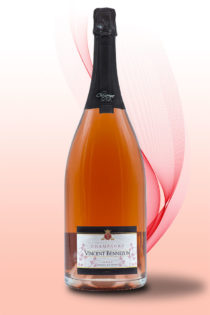 Magnum Brut Rosé - Champagne Vincent Bennezon