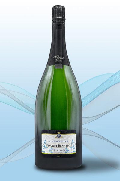 Magnum Brut Tradition - Champagne Vincent Bennezon